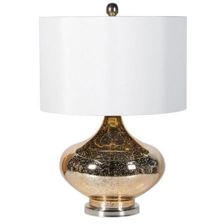 Rose Gold Mercury Gl Table Lamp