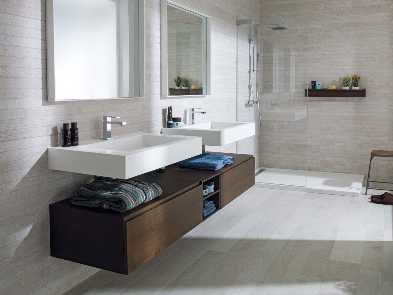 Krion collections de salles de bains ras maison - Banos actuales ...