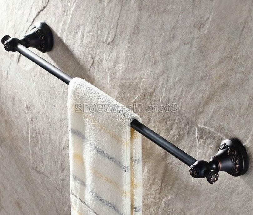 36.39$  Buy here - https://alitems.com/g/1e8d114494b01f4c715516525dc3e8/?i=5&ulp=https%3A%2F%2Fwww.aliexpress.com%2Fitem%2FBathroom-Accessory-Black-Oil-Rubbed-Bronze-Single-Towel-Bar-Wall-Mount-Towel-Rack-Wba449%2F32626184253.html - Bathroom Accessory Black Oil Rubbed Bronze Single Towel Bar Wall Mount Towel Rack Wba449 36.39$
