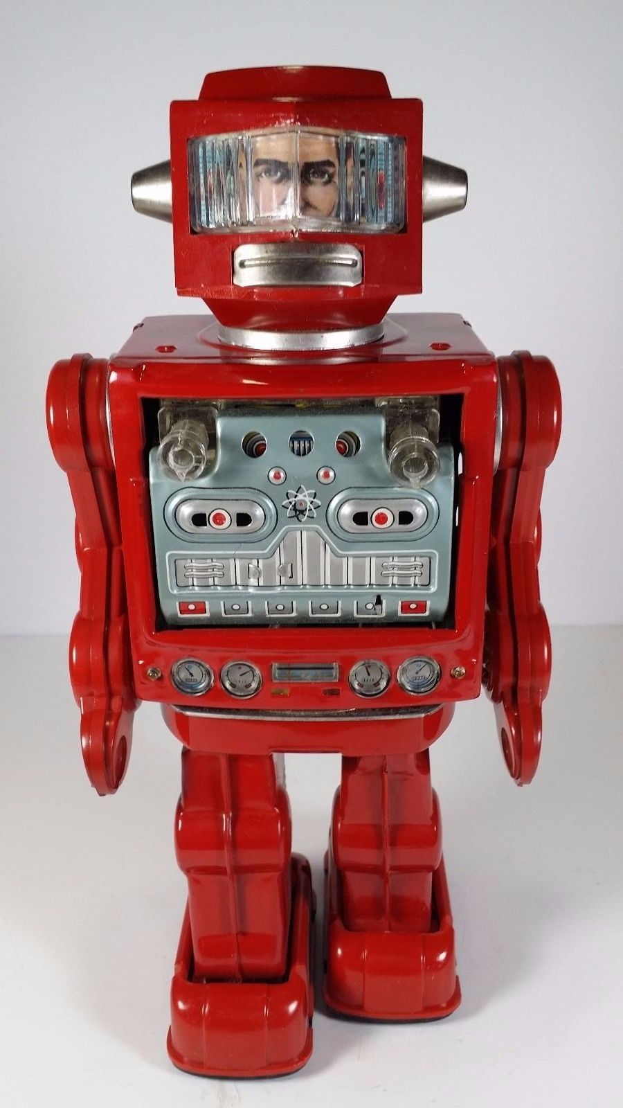 Horikawa Red Swivel-O-Matic Astronaut/ebay | Vintage ...