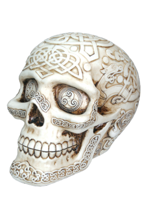 Summit Celtic Skull Skull Painting Skull Statue Skull Art