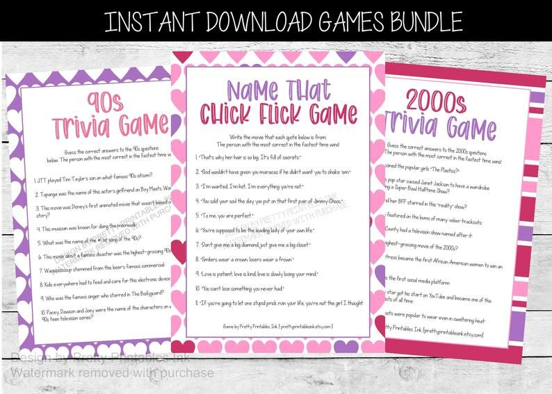 Galentine S Party Games Valentine S Party Games Virtual Galentine S Games Virtual Girl S Night In Games Virtual Girls Night Games In 2021 Valentine Party Game Galentines Party Girls Night Games