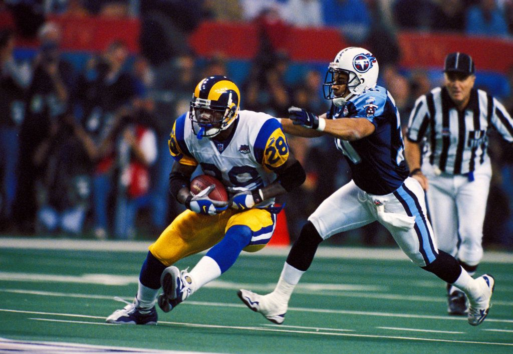 marshall faulk Google Search Super bowl, Football, Nfl