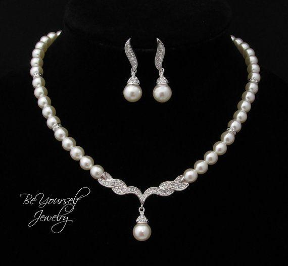 Best 25 Pearl Necklace Set Ideas On Pinterest Large