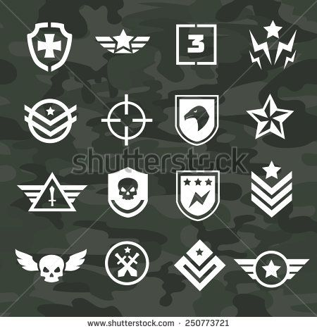 Military symbol icons and logos special forces   Airsoft