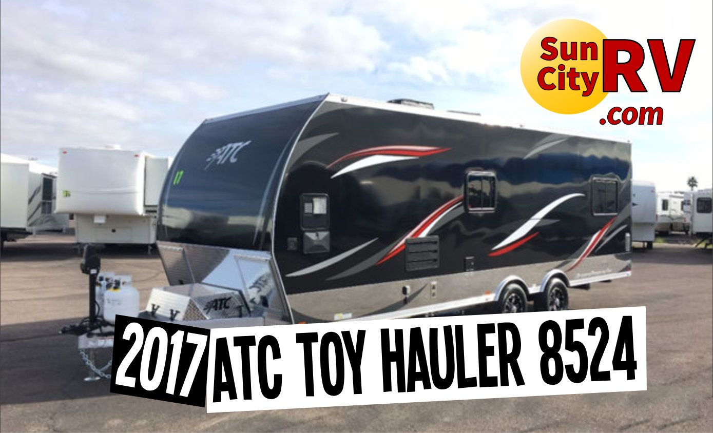 The New 2017 Lightweight Atc Aluminum Toy Haulers Are Now In Stock