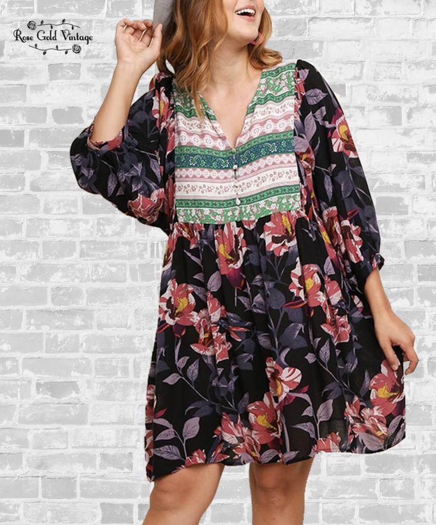VV Boutique Style: Floral Pants
