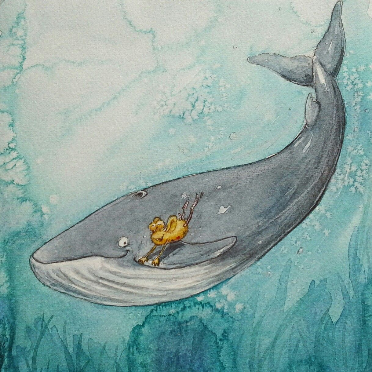 Pin Auf Illus Kinderbuch Aquarell