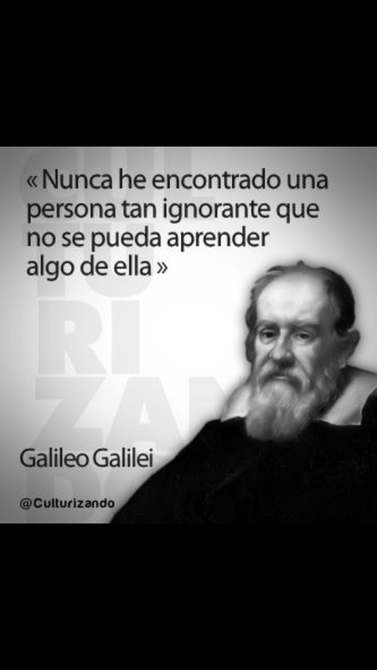Galileo Galilei Frases Frases Reflexion Motivaciones