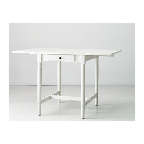 INGATORP Drop Leaf Table IKEA Table With Drop Leaves Seats 2 4;