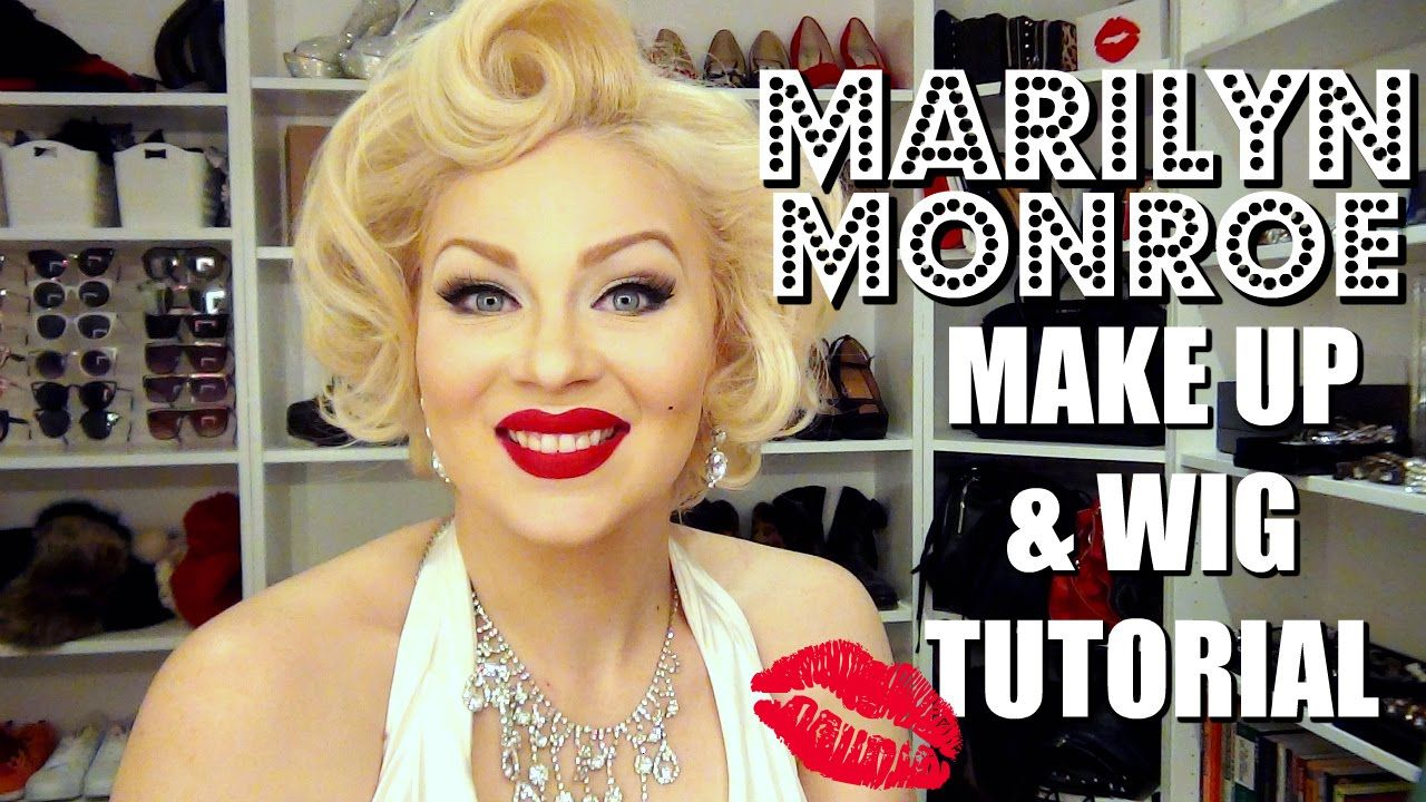 MARILYN MONROE 1950s Makeup + Wig Tutorial CASSIDY LA