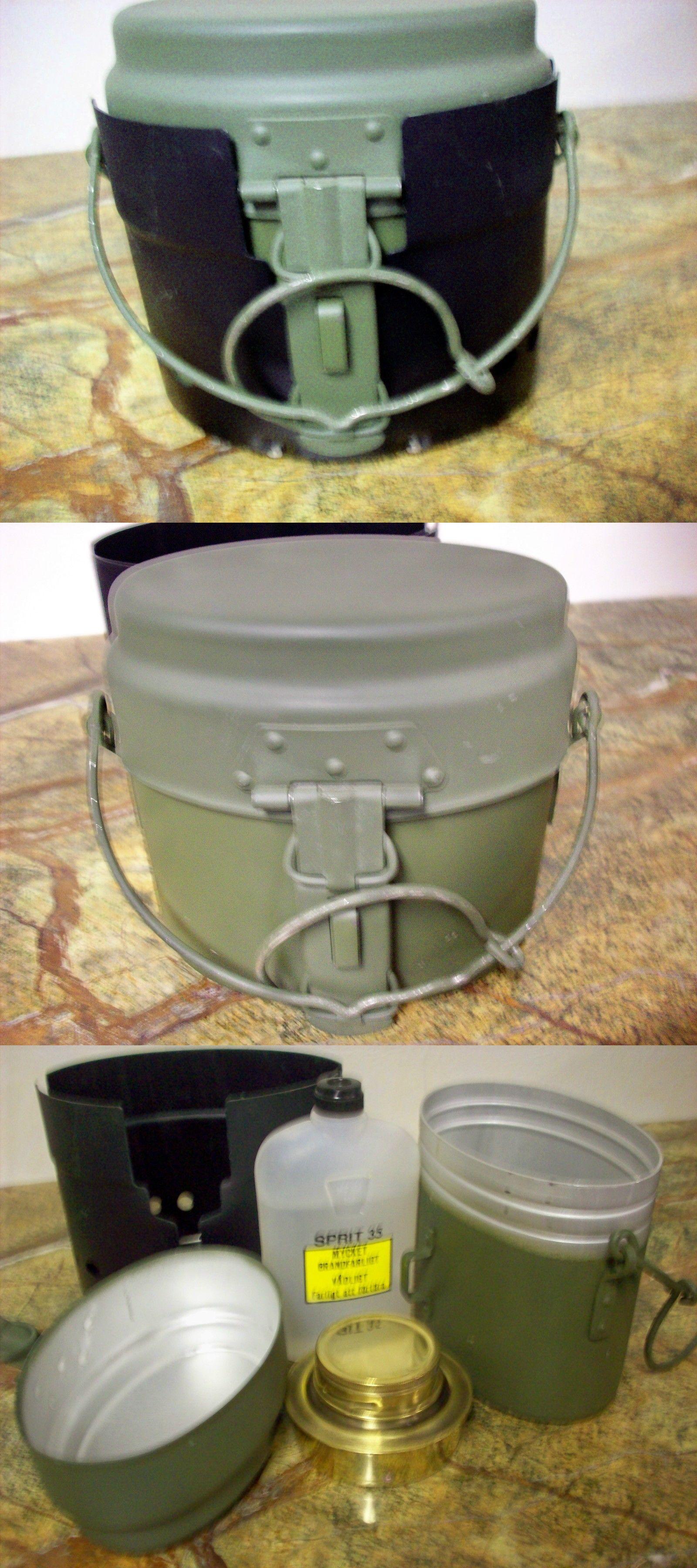 Mil-Tec Three Piece Heavy Duty Durable Camping Mess Kit Khaki