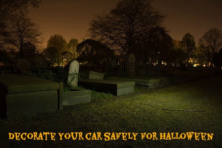 Decorate your car for Halloween Auto Maintenance  DIY Tips - decorate your car for halloween