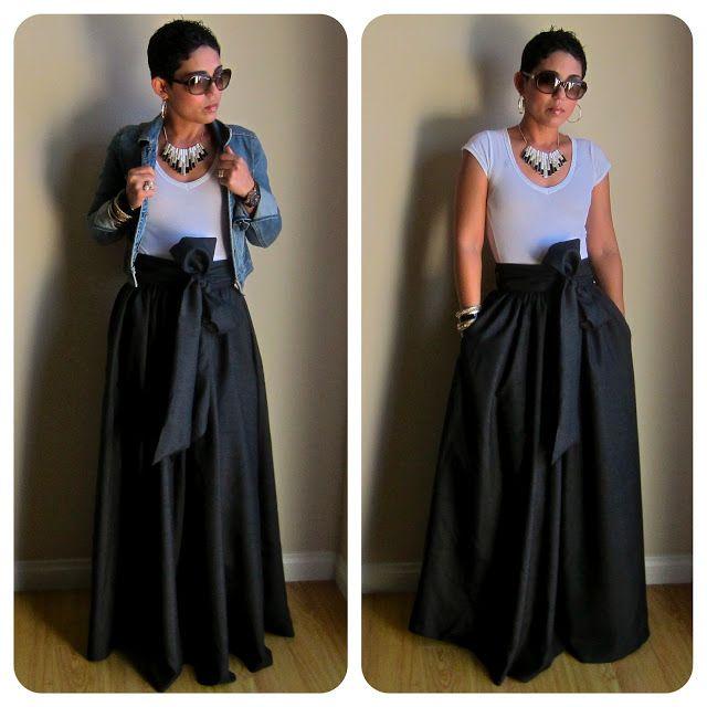 Make a Maxi Skirt from a Bed Sheet | Bed sheets and Diy ... - photo #5