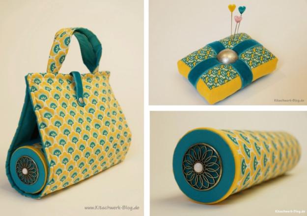 DIY: Nadelkissen + Upcyclingrolle | Nähideen / Sewing ideas ...