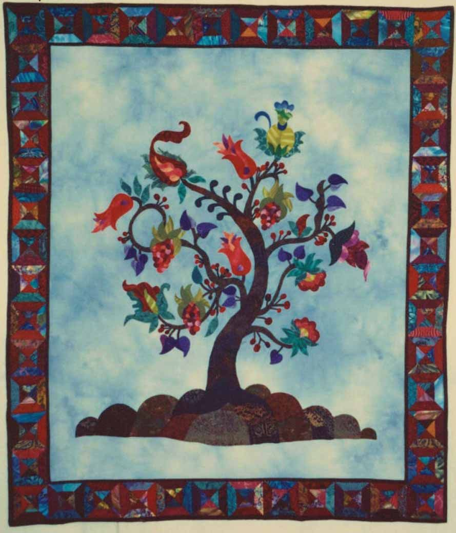Jacobean Tree Of Life Pattern By Patricia Campbell