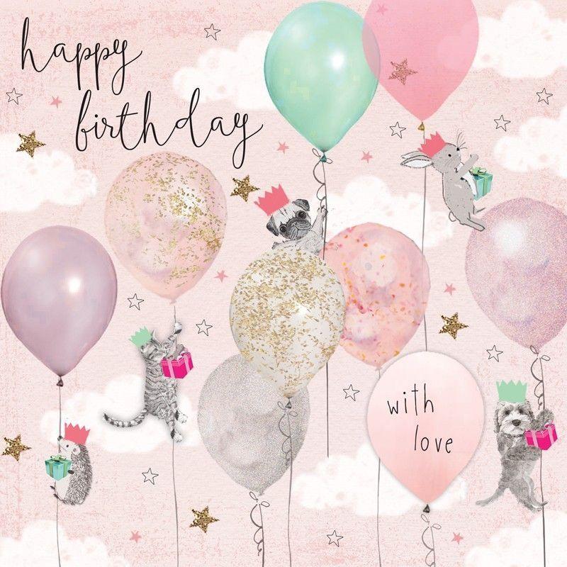 Памятные открытки ко дню рождения на год