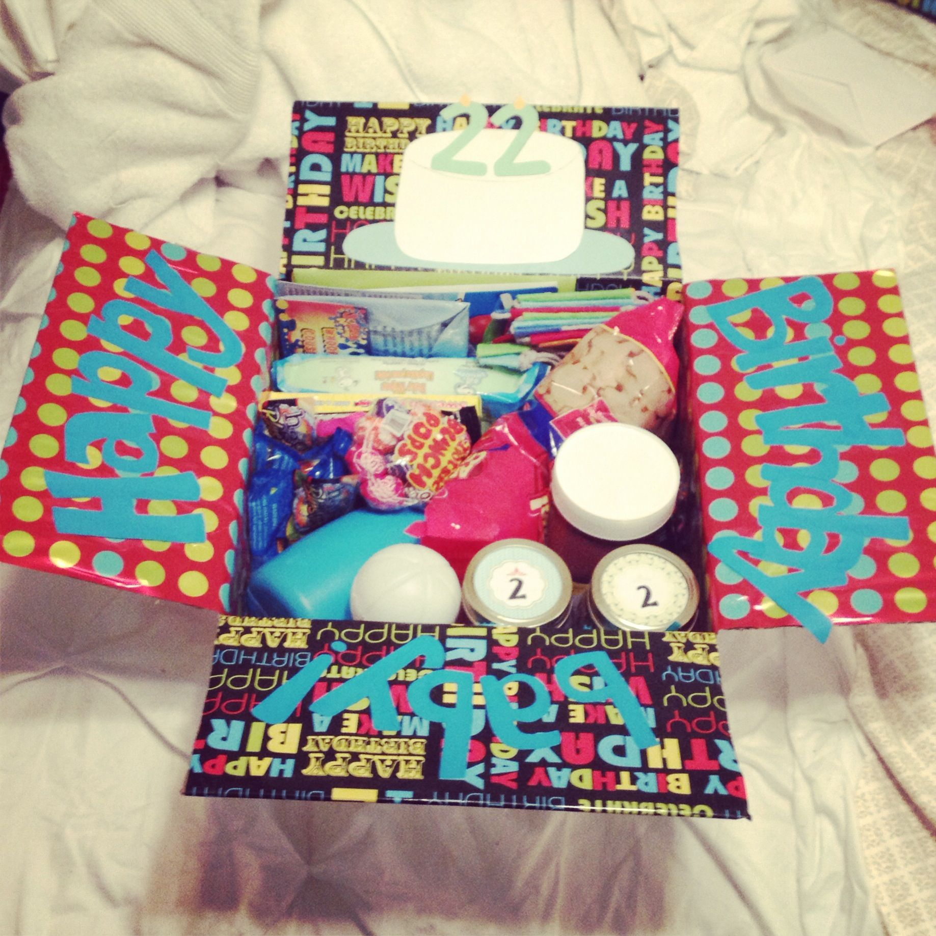 Codys birthday care package hes turning 22 during