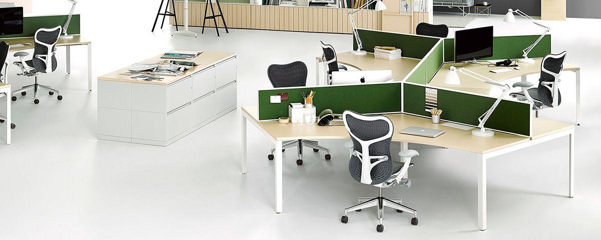 Layout Studio Office Furniture System Herman Miller Innen