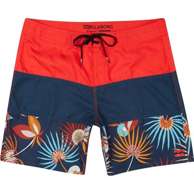 Pantalones Cortos Playa para Hombre BILLABONG Tribong OG Print 17