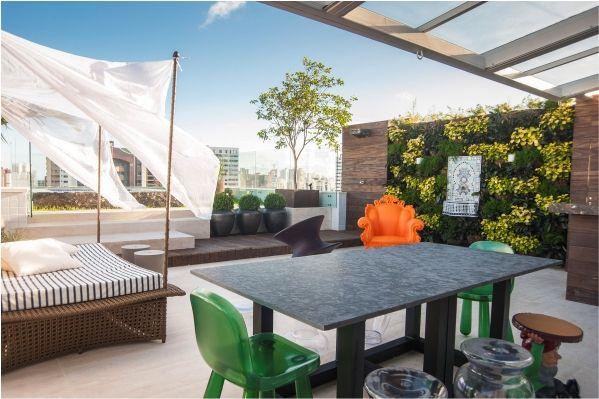 Terrace by Tetu Arquitetura www.tetuarquitetura.com