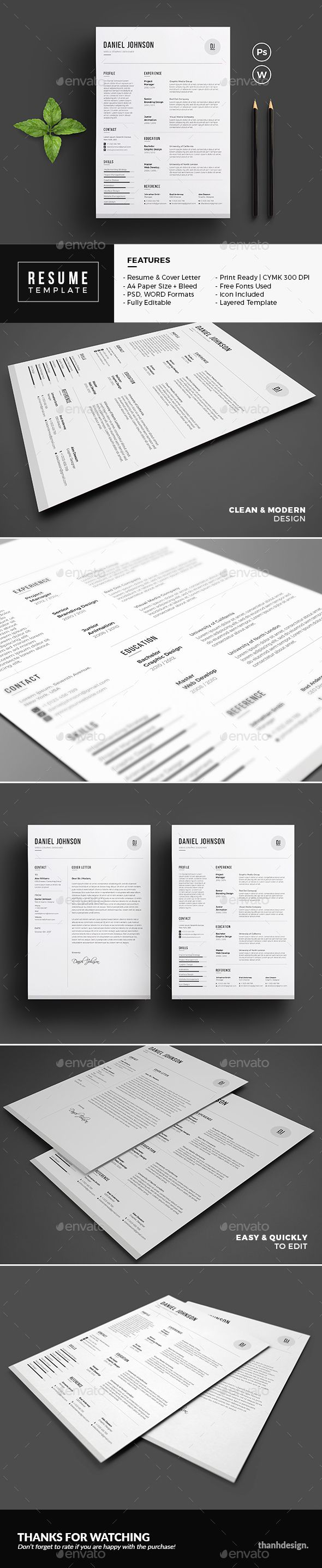 Resume  Resume Cv Cv Template And Template