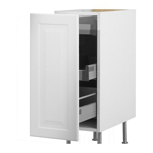 AKURUM Base Cabinet With Pull Out Storage IKEA Built In Dampers Make The  Doors