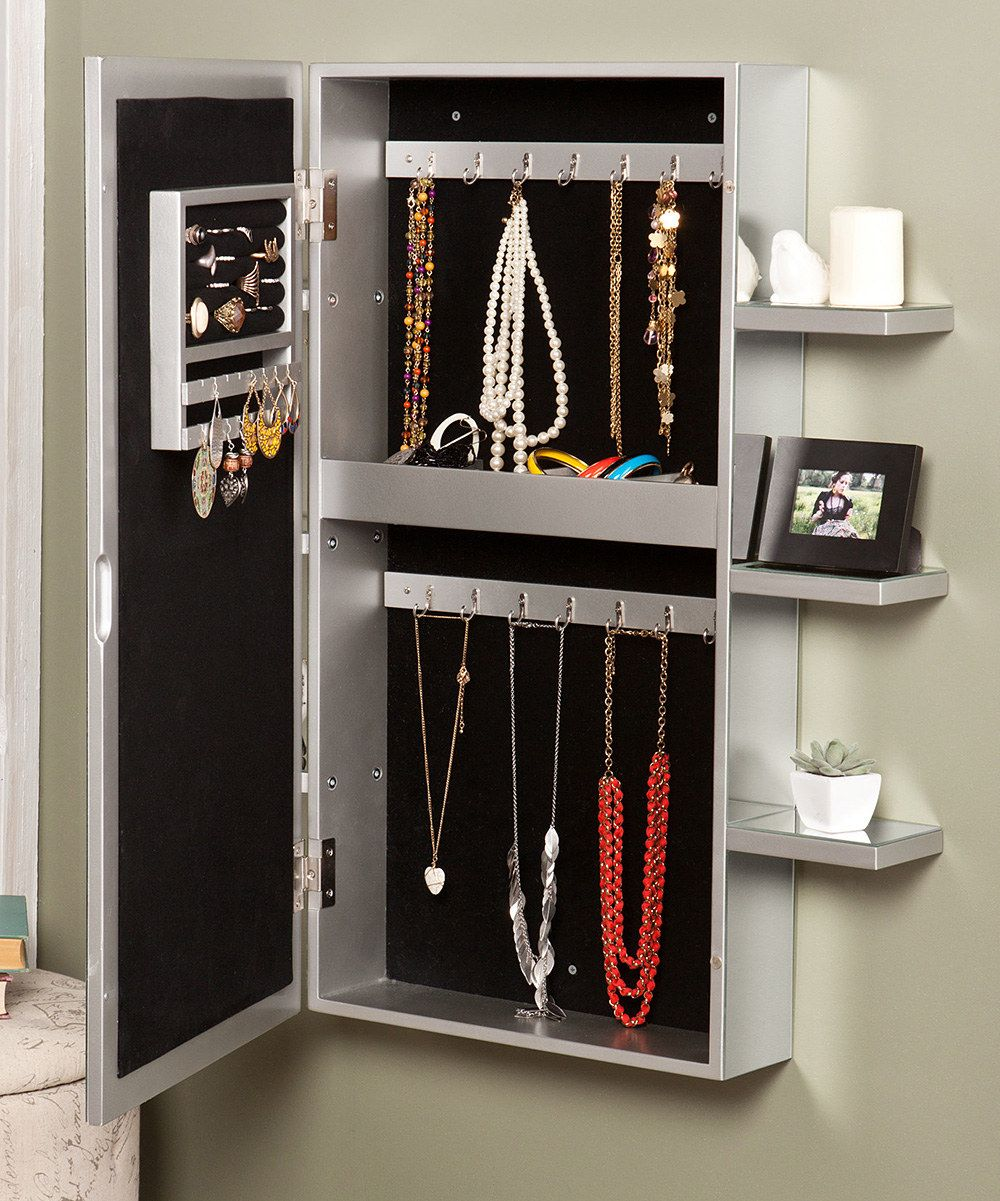 Darlington WallMount Jewelry Armoire Wanted Pinterest