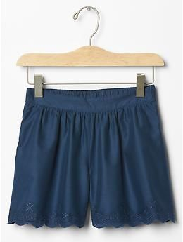 Eyelet soft shorts - Summer Style Gem: 1 part flowy, 2 parts cool + functional. Ready to wear with anything.