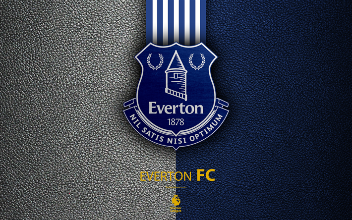 Download Wallpapers Everton FC, 4K, English Football Club