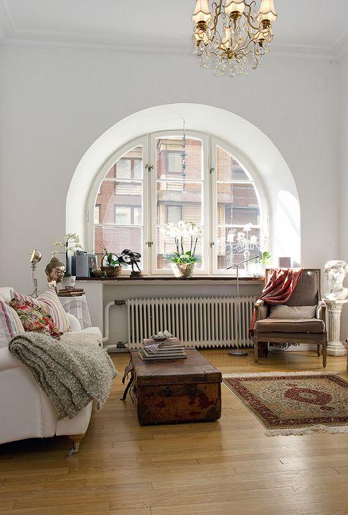 Rundbogen Fenster Haus Interieurs Inneneinrichtung