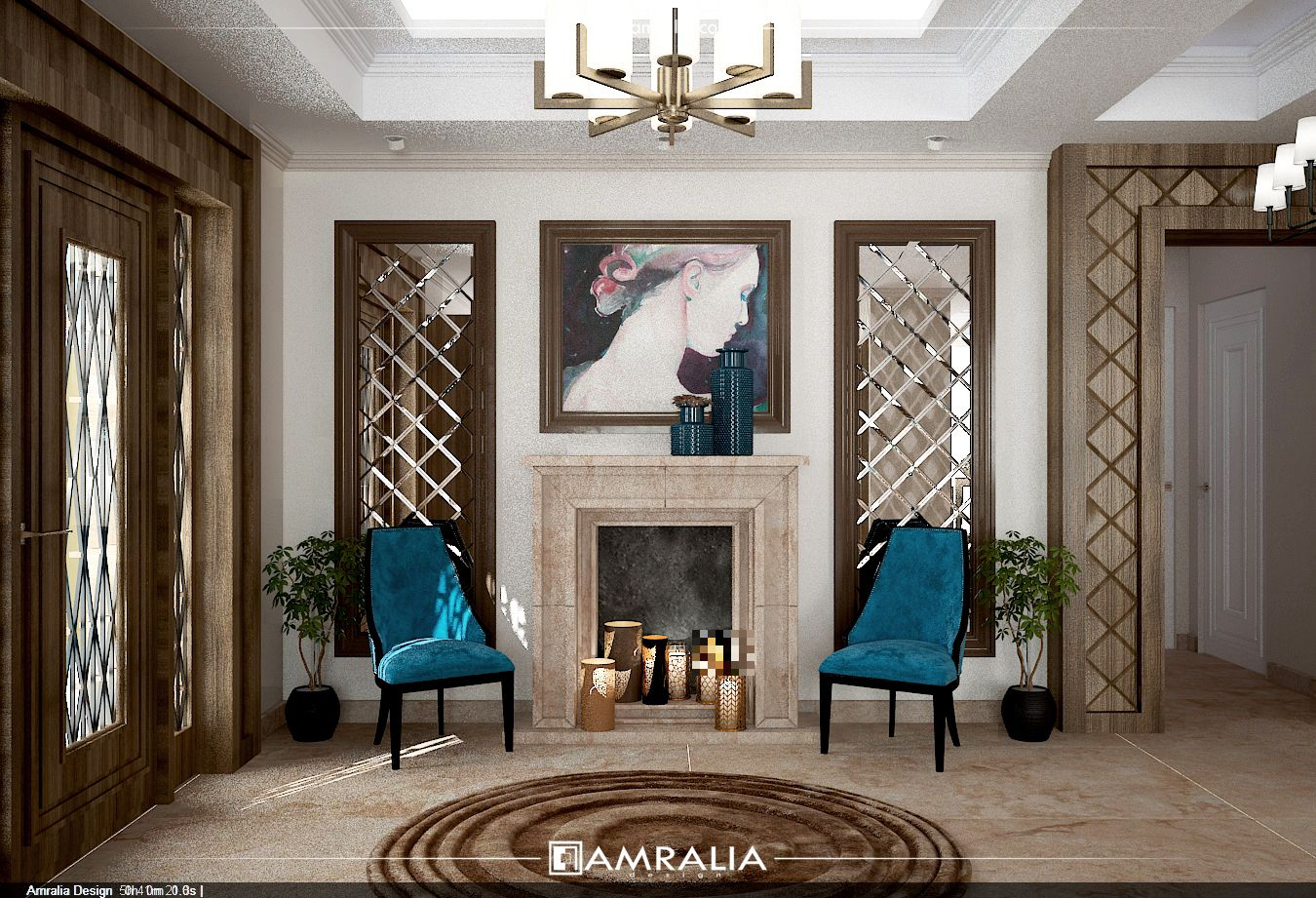 Contemporary Reception Style Project Designed By: Amralia Design Year: 2017  Location: 6 October City, Giza, Egypt. Contact Us: T: 022 4170 535 M: 0100  188 ...