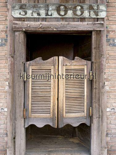 Salloon doors fotobehang uit de collectie Landscape van ...