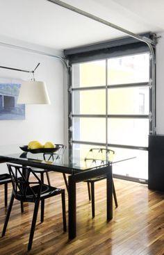 Glass Garage Doors Kitchen Google Search Small Garage Door Aluminium Garage Doors Garage Door Windows