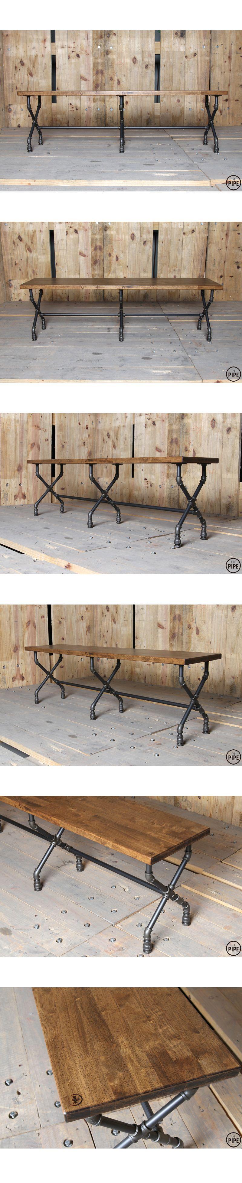 The Pipe:: 15SG Dining Table or Work Table  DIY bar  Pinterest  파이프, 의자 ...