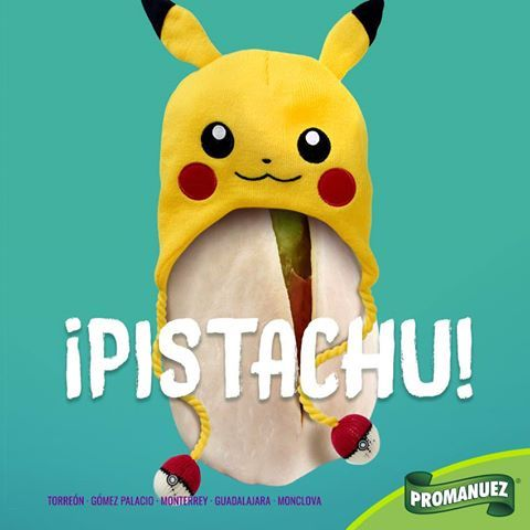 Viernes y Pikachu lo sabe :D En Promanuez contamos con pistachos encuéntralos aquí http://www.promanuez.com.mx/productos/pistacho