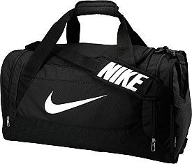 dd593e8054 Head off to the gym or team practice with the NIKE® Brasilia 6 medium  duffel bag.