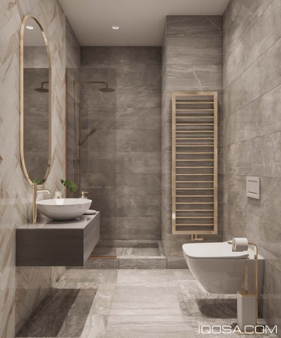 Modern Classic In Albania On Behance Modern Classic Bathrooms