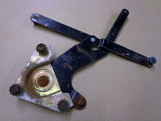 1964 Ford Fairlane 2 Door Hardtop Right Window Regulator Scissor Assembly Ford Fairlane 1964 Ford Fairlane