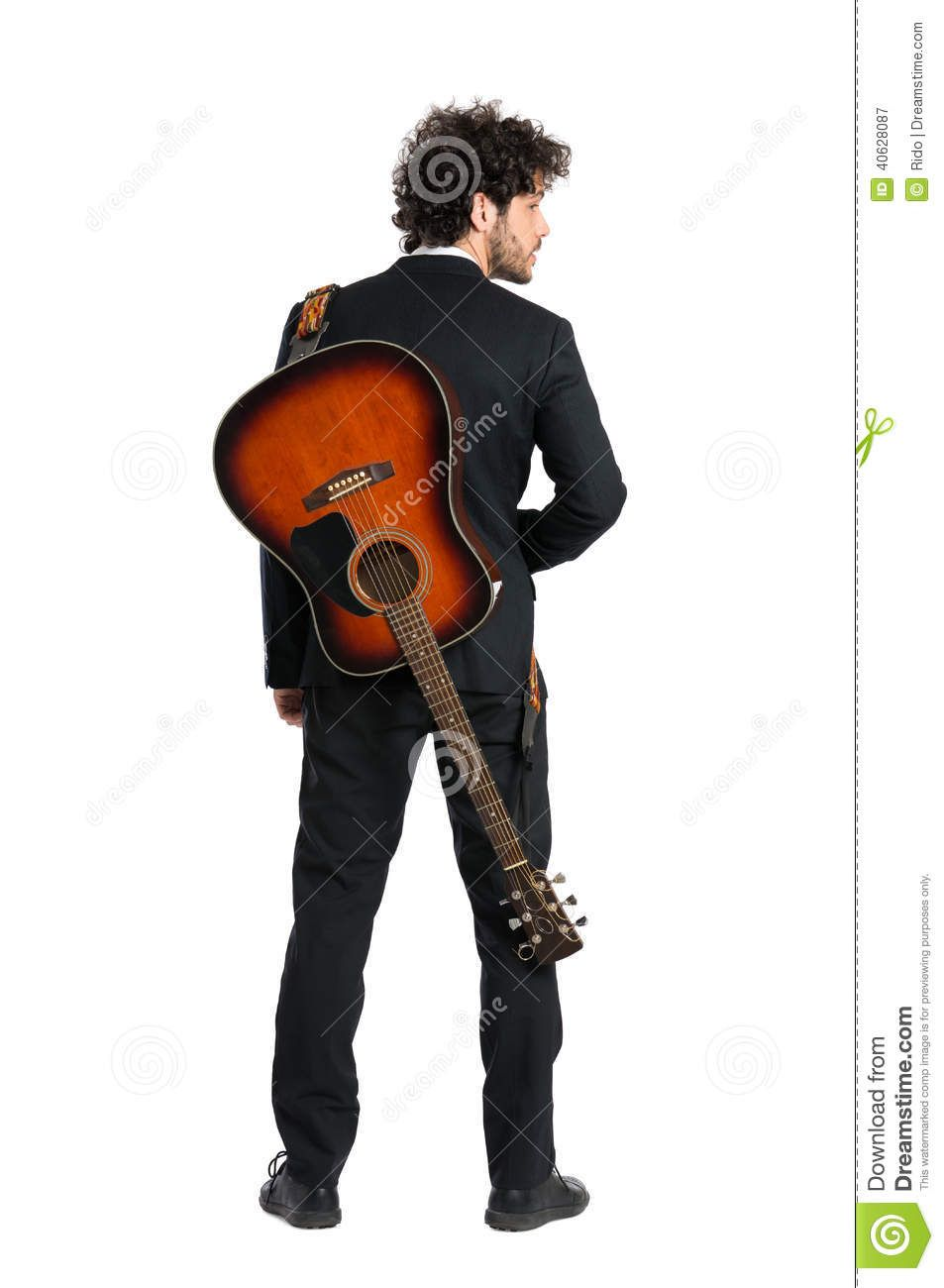 Carrying Guitar On Back