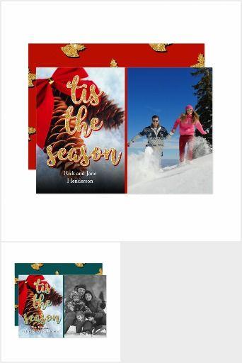 Tis The Season Personalized Christmas Card