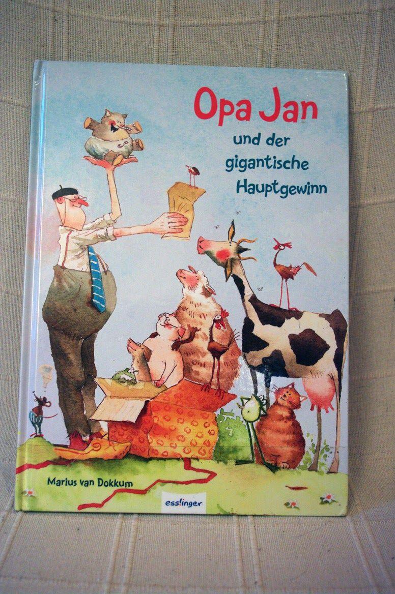 3 Von 5 Sternen Marius Van Dokkum Opa Jan Und Der Gigantische Hauptgewinn Esslinger Verlag Esslingen 2013 Isbn 978 348023084 Kinderbucher Bilderbuch Bucher