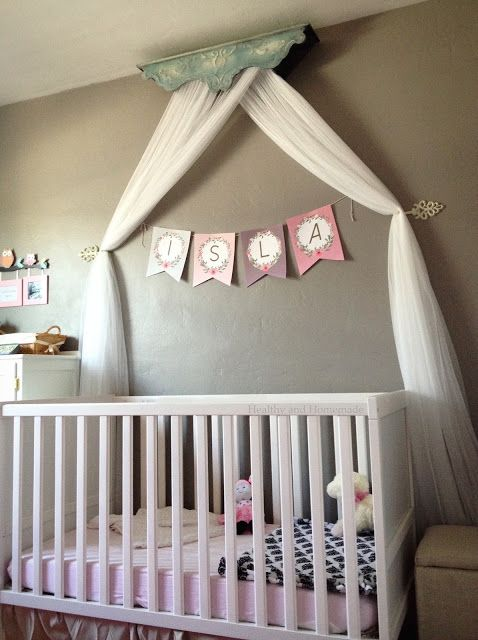 Easy Diy Crib Canopy With Images