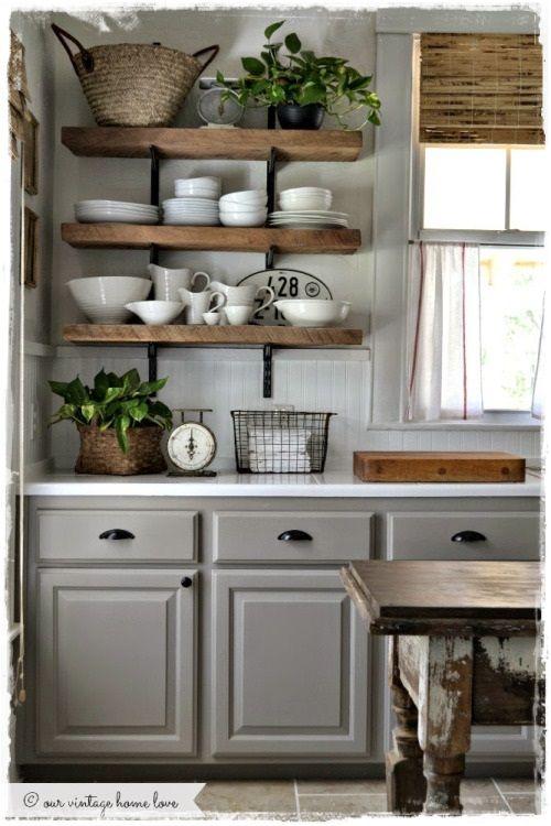 cocinas rusticas vintage | DECORACIÓN DE COCINAS | Pinterest | Ideas ...