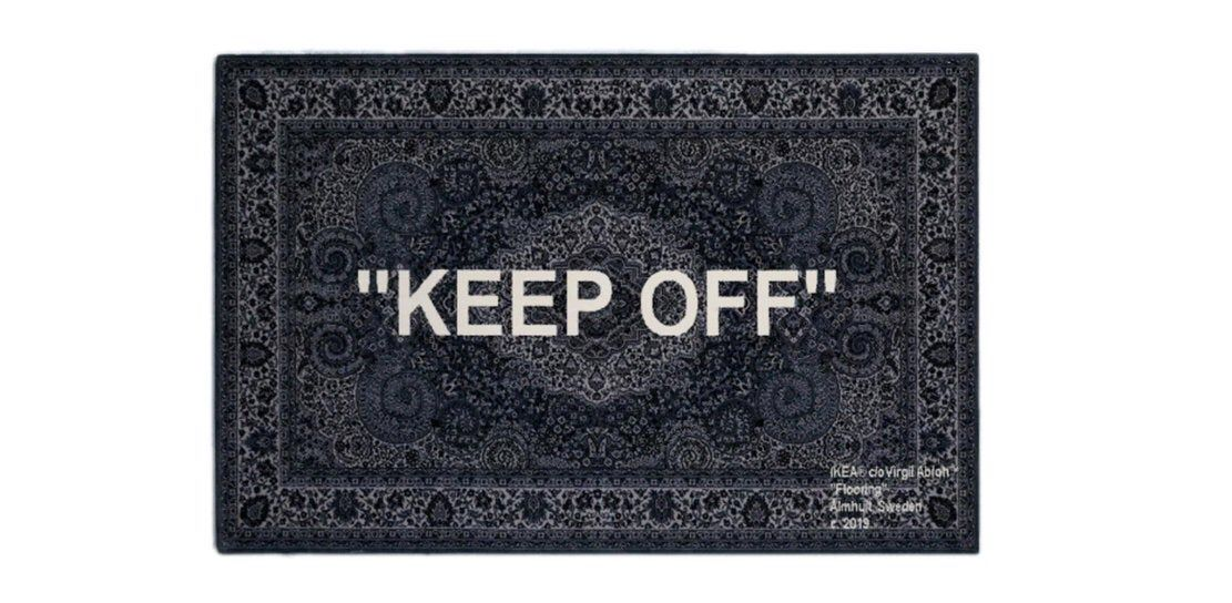 Ikea X Off White Virgil Abloh Keep Off Rug By Laprairieshop On Etsy Https Www Etsy Com Listing 71376243 Ceramic Candle Holders Boutique Design Virgil Abloh Off white background 1920x1080 wallpaper