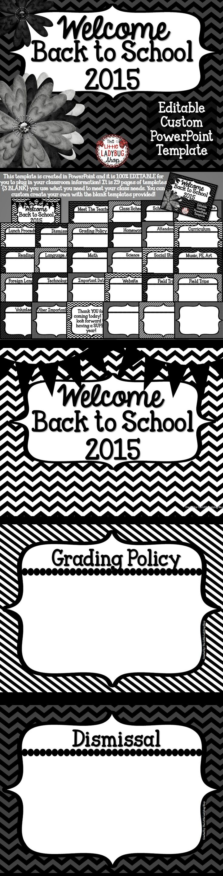 Back to school powerpoint for open house and meet the teacher back to school powerpoint for open house and meet the teacher template toneelgroepblik Images