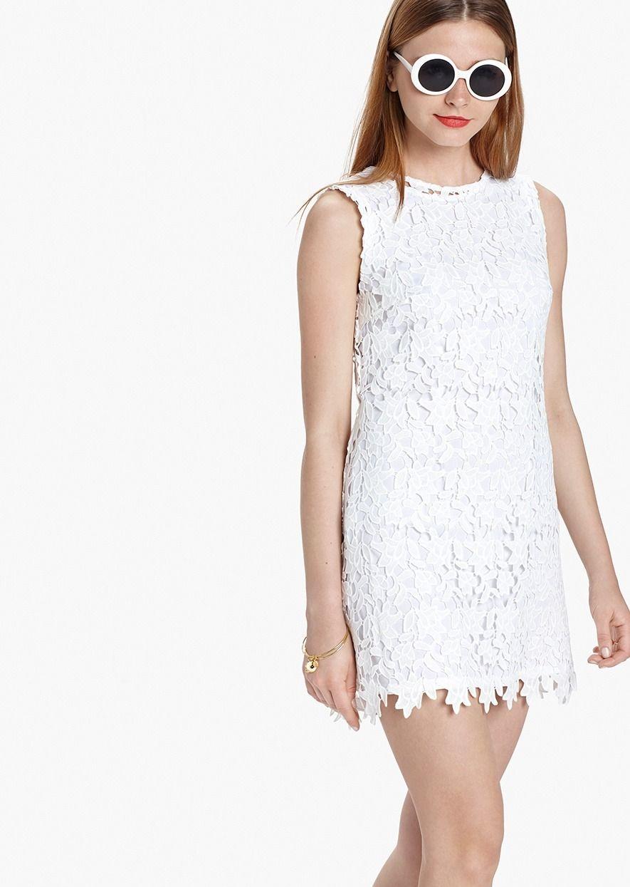0549903bb Vestido mini Blanco Modelo VERMOUTH. Etxart Panno-Tienda Online Oficial