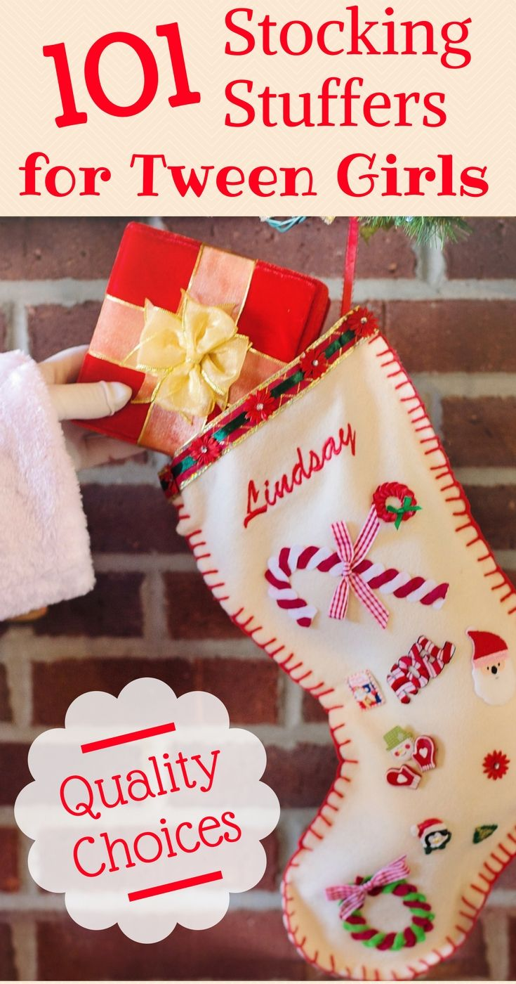 101 stocking stuffer ideas for tween girls that are not junk 101 stocking stuffer ideas for tweens girls that arent junk solutioingenieria Image collections