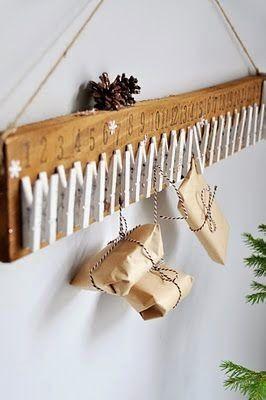 Calendrier de l'Avent pour les enfants – Idées d'activités et ou petits cadeaux DIY #calendrierdelaventfaitmaison