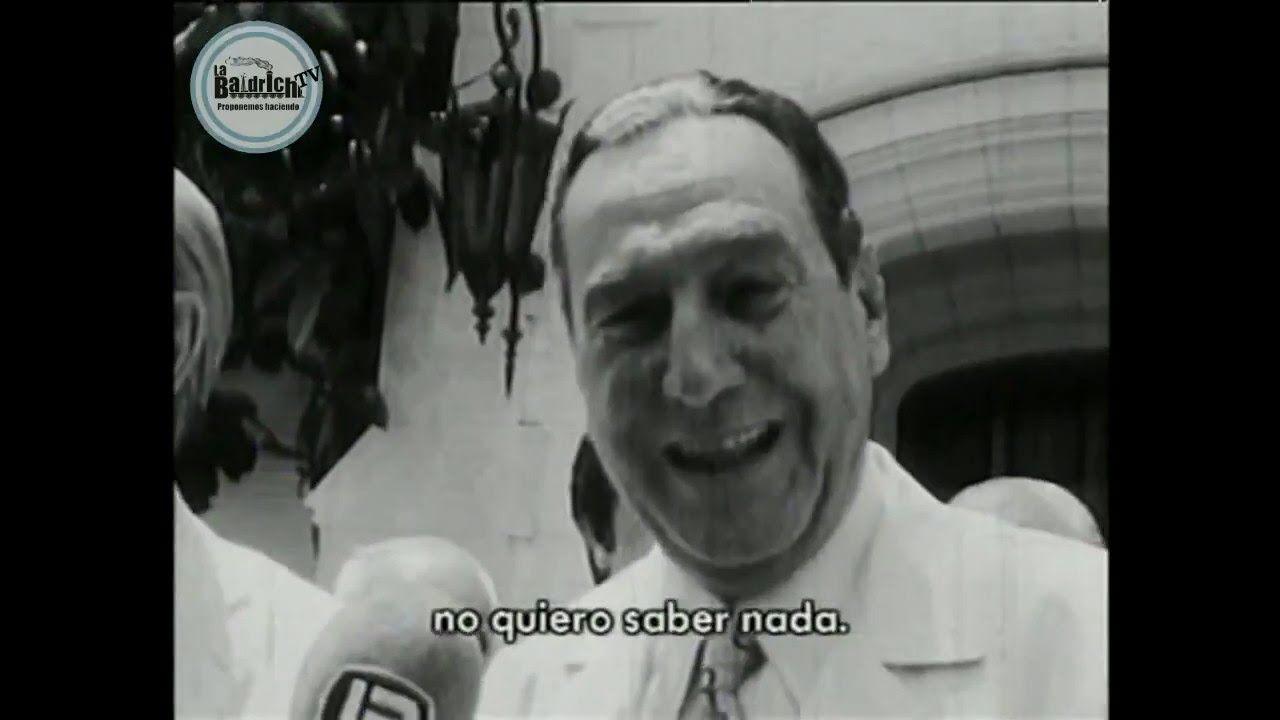 """Perón  """"Yo soy un grasa y quiero seguir siendo un grasa"""""""